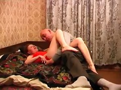 hairless dad and teen gf