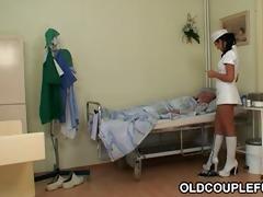 grandpa fucks hawt slutty nurse