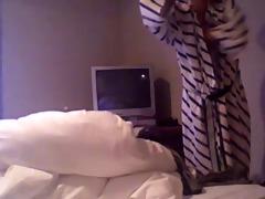 sister getting dressed - voyeur spy
