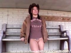 naked farmers daughter s garb around cedar rapids