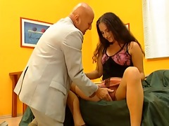 young doxy fucking a older man