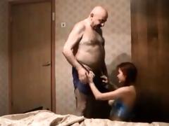 old guy fucks redhead teen on hidden cam