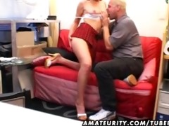 youthful amateur girlfriend sucks and fucks an