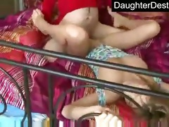 young legal age teenager daughter abuse