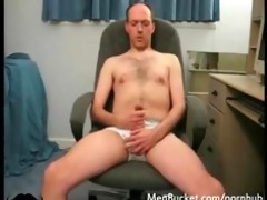 real dilettante daddy jerking off on web camera