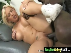 taut young legal age teenager takes big black