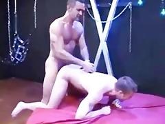 hung dadylito face fucks, makes the boy fist fuck