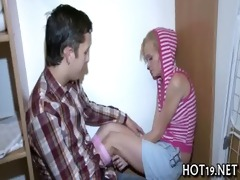 nice group-sex with legal age teenager angel