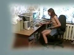 great quality clip of my sister masturbating at