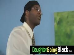 black dude bonks my daughters young fur pie 6