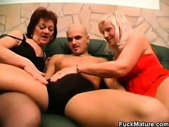 hot older women taking turns