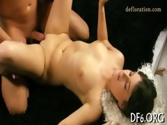 cock inside virgin snatch