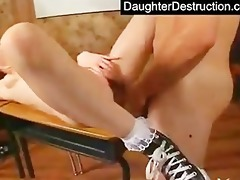 youthful legal age teenager daughter abuse