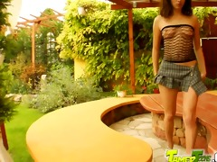 tamed nubiles slender 18 year old acquires all