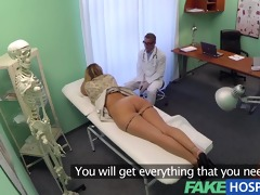 fakehospital doctor accepts sexy russians pussy