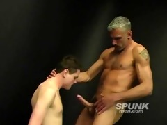horny daddy stuffing his biggest cock down this