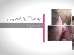 hazel &; elena three-some