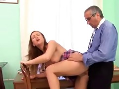 old man and juvenile girl - 7