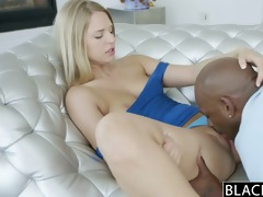 blacked consummate blonde cutie squirts on big