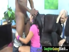 watching how my daughter is drilled by my black