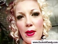 sexy interracial doxy gets cum-hole fucked