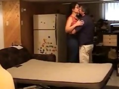 sweet young beauty fucked on hidden by old man