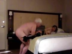 sexy chub daddy fuck youthful wench