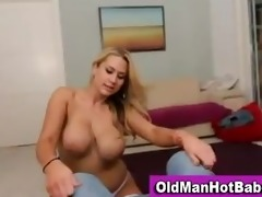old guy with sexy younger hottie