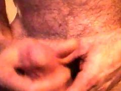 50-year-old masturbation jizz flow 2