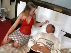 obscene old senior is fucking a cute juvenile girl