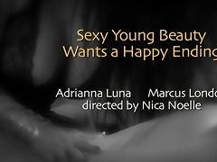 pleased endings : sexy young beauty craves a