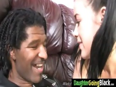 watchung my daughter getting drilled by dark cock