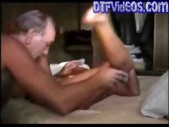 grandpa bonks his daughter in laws tight pussy