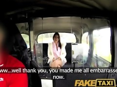 faketaxi sweet brunette falls for sugar daddy