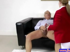 spruce amateur plowed by old man