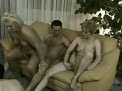 grannies in orgy - 4 old harlots &; 3 worthy