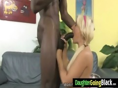 watching my daughter getting fucked by black 21