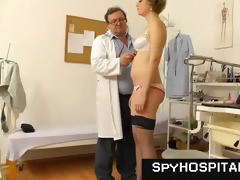 mature gyno doctor operates a hidden livecam