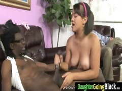 young daughter gets pounded by big dark cock 12