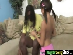 young daughter with good wazoo fucked by a black