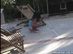 sinless eighteen year old pussy fucked