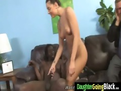 naughty teen drilled hard by black 9