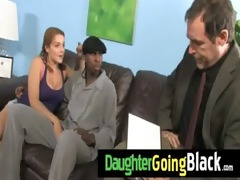 see how my daughter is fucked by a darksome chap