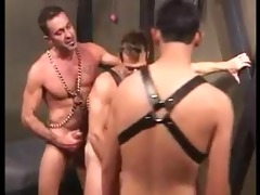 daddy lito trains younger lad in the art of rough