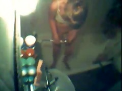 see not my sister shaving pussy. hidden cam